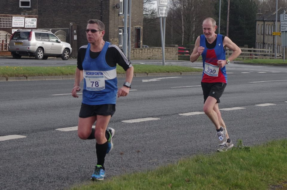 Alan Squire at Liversedge Half by Andrew Hardaker
