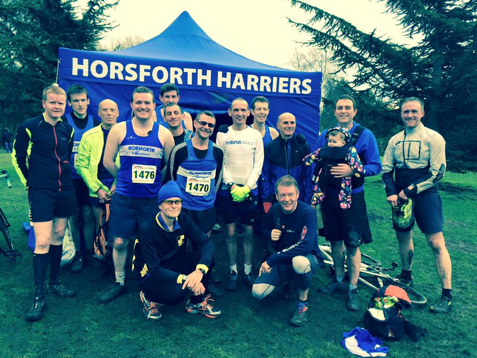Harriers men at PECO Golden Acre Park