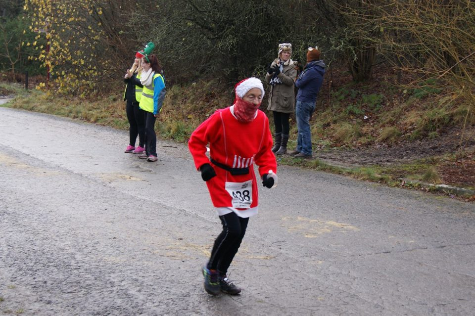 Hilary Wharam at Leeds Christmas 10K 2015