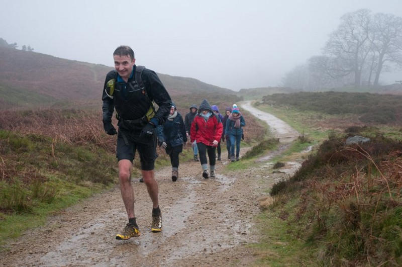 Nathan Crossley at Rombalds Stride by Scott Leach