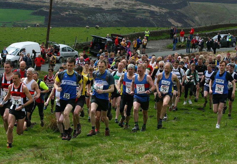 Tim-Street-and-Paul-Senior-at-Calderdale-Way-Relay-by-Holmfirth-Harriers