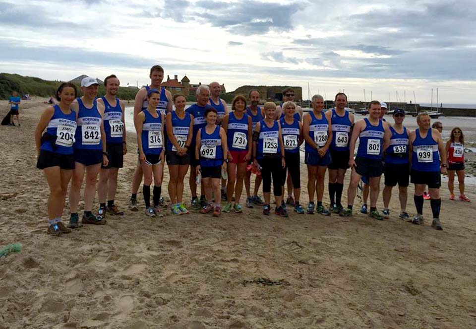 Harriers at Northumberland Coastal Run