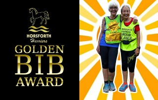 the golden bib award at horsforth harriers